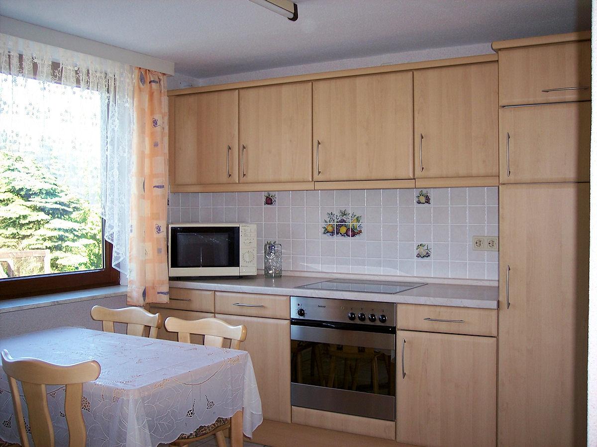 Küche Essplatz – Ferienwohnung Bradtke Heikendorf